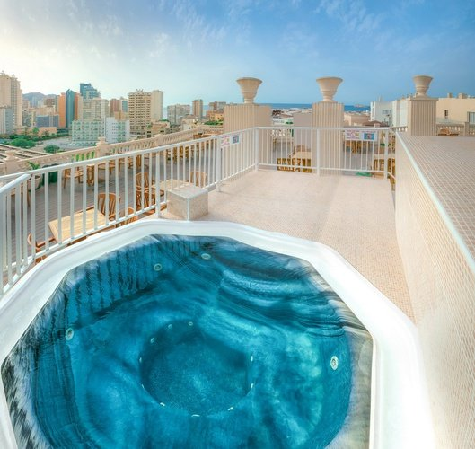 Terrace Magic Cristal Park Hotel Benidorm