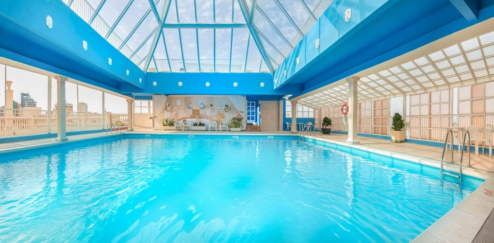 Indoor swimming pool magic cristal park hotel benidorm