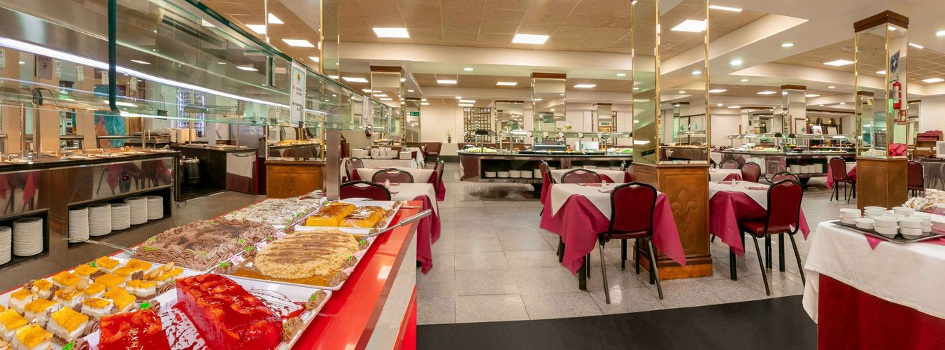 Buffet restaurant magic cristal park hotel benidorm