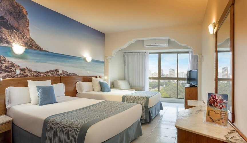 Double junior room (park view) magic cristal park hotel benidorm