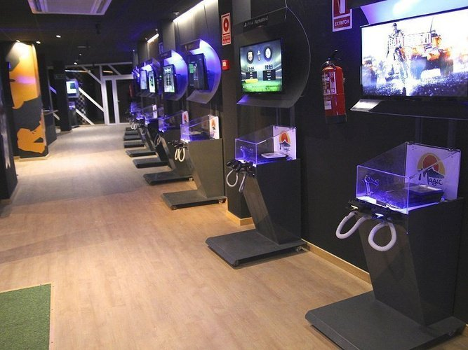 Game experience-competition zone magic cristal park hotel benidorm