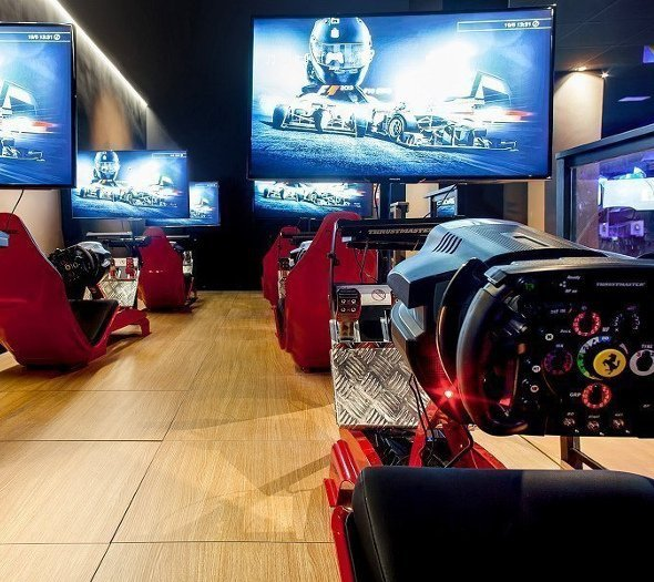 Game experience room magic cristal park hotel benidorm